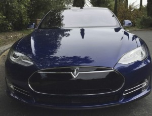 Un Modèle S de Tesla Motors. Photo Reuters