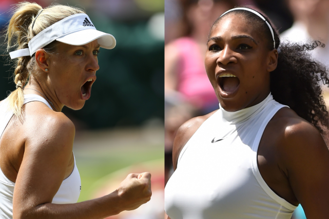 Wimbledon: Angelique Kerber et Serena Williams en finale
