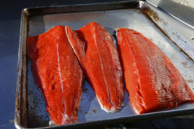 Manger du poisson gras augmenterait les chances de survie au cancer de l'intestin