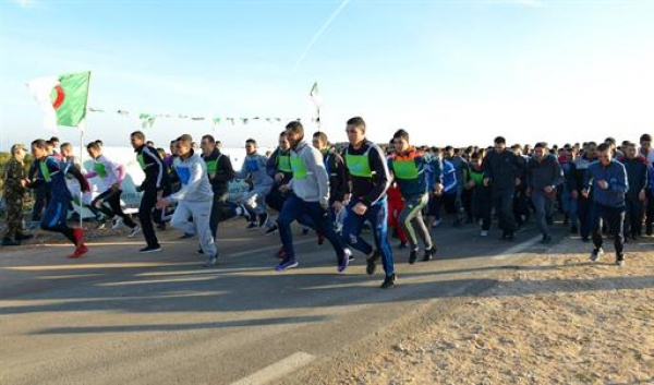 Forte participation au cross « Amitié à travers le sport » à Oran