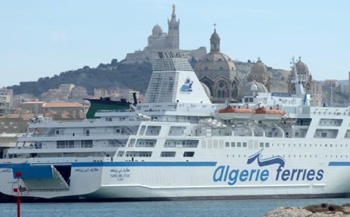 Le ferry Tariq Ibn Ziyad sauve 10 migrants clandestins dont l'embarcation a coulé au large d'Oran